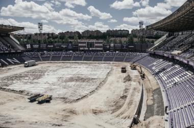 El Estadio José Zorrilla rejuvenece su aspecto