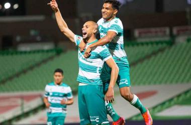 Dória volvió a hacerse presente en el marcador (Foto: Mexsport).