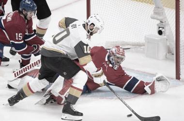 Nicolas Roy metió el gol en tiempo extra. NHL.com.