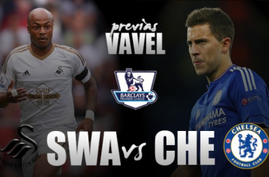 Swansea tenta quebrar tabu contra Chelsea para fugir de vez do rebaixamento