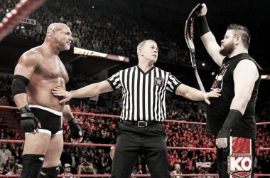 La vista al pasado: Goldberg vs Kevin Owens, Fastlane 2017