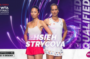 Hsieh Su-wei and Barbora Strycova are one of the most dominant pairings on tour this year | Photo: WTA