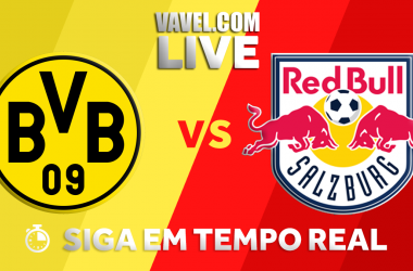 Resultado Borussia Dortmund x Red Bull Salzburg na Uefa Europa League (1-2)