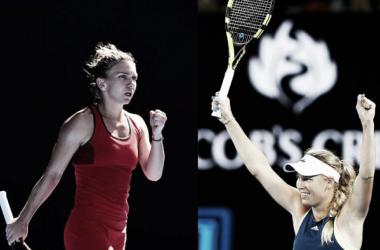 Wozniacki vence Halep e conquista seu primeiro título de Grand Slam da carreira (1-2)