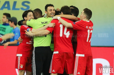 SL Benfica se desquita en los penaltis