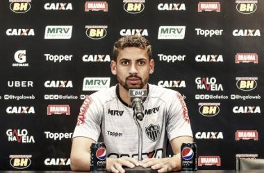 Gabriel avalia desempenho do Atlético-MG e acredita em evolução nos próximos jogos
