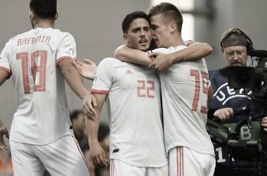 Pablo Fornals marcó el gol que le dio la victoria a la selección española sub 21 frente a Bélgica | Foto: UEFA.com