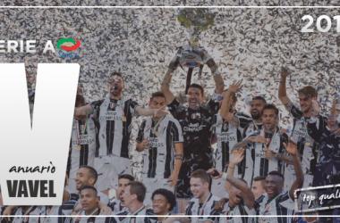 La Juve celebra su título de Serie A | Fotomontaje: Dani Souto, VAVEL