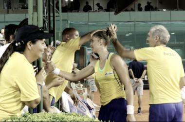Brasil vira sobre a Venezuela e estreia com vitória na Fed Cup