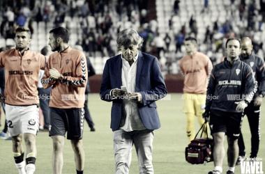 """Enrique Martín: """"Cuesta mucho llegar al lugar en el que está el Alba ahora mismo"""""""
