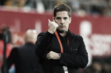 Robert Moreno en uno de sus últimos partidos con España / Foto: UEFA