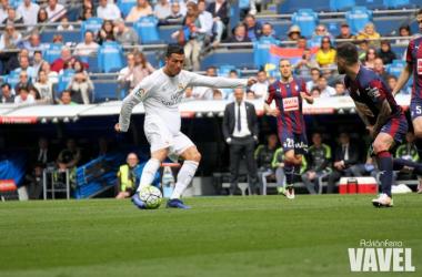 Cristiano Ronaldo, elegido como el mejor jugador del Real Madrid - Eibar