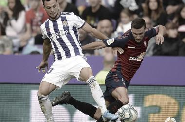 Óscar Plano se convierte en el pichichi del Real Valladolid
