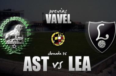 Atlético Astorga - CD Lealtad: último sprint hacia el objetivo. (Fotomontaje: Rafa Cerpa)