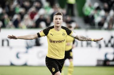 Marco Reus marca e garante vitória do Borussia Dortmund contra Wolfsburg