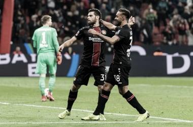 Volland marca duas vezes e garante vitória do Bayer Leverkusen sobre Stuttgart