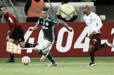 Palmeiras vence Fluminense em ótima apresentação de Roger Guedes. Foto: Divulgação/Palmeiras