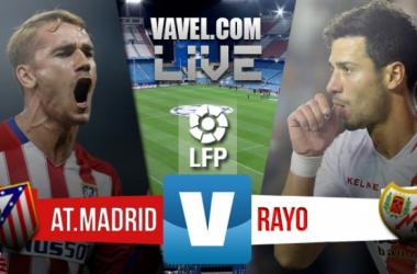 Resultado de Atlético de Madrid x Rayo Vallecano no Campeonato Espanhol 2016 (1-0)