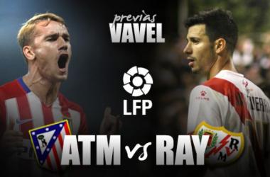 Em extremidades diferentes da tabela, Atlético de Madrid e Rayo se enfrentam no Calderón