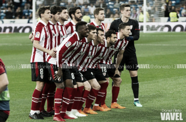 Los jugadores del Athletic posan para la foto | Fotografía: Daniel Nieto (VAVEL.com)