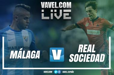 Resumen Málaga 2-0 Real Sociedad en La Liga 2018