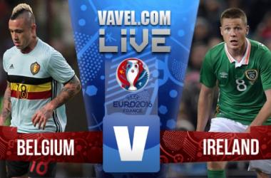 Bélgica e Irlanda se medirán en el segundo duelo de ambos cuadros en el Grupo E de la Eurocopa 2016 (Fotomontaje: VAVEL.com)