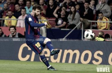 Leo Messi, el récord en la final de la Copa del Rey | Foto de Daniel Nieto, VAVEL