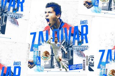 Ángel Zaldívar es anunciado como nuevo refuerzo del Club Puebla