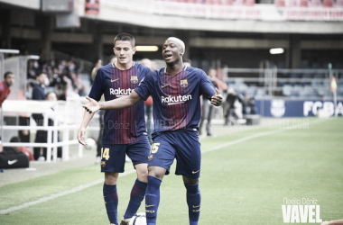 Imagen de archivo del partido Barça B vs Reus | Foto: Noelia Déniz - VAVEL
