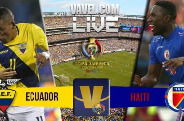 Equador goleia Haiti na Copa América Centenário (4-0)