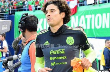 Guillermo Ochoa fue el arquero titular de México en Brasil 2014 (Foto: Vavel)