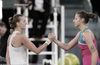 Kvitova, Pliskova y Kerber avanzan a segunda ronda
