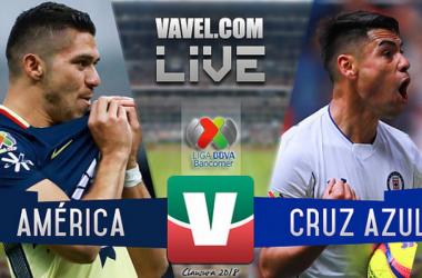 Resultado y goles del América 2-1 Cruz Azul de la Liga MX 2018