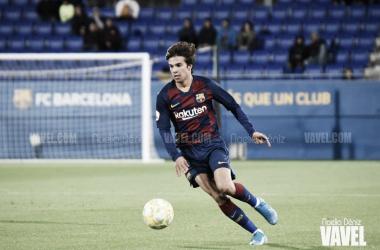 Riqui Puig debuta como titular con la Selección Española de Fútbol Sub-21 ante Macedonia del Norte