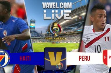 Resultado Haiti x Peru na Copa América Centenário (0-1)