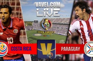 Score Costa Rica - Paraguay in 2016 Copa America Centenario (0-0)