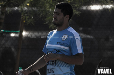 Suarez will now be missing at least two of Uruguay's Copa America Centenario matches. | Photo: Freek Bouw/VAVEL USA
