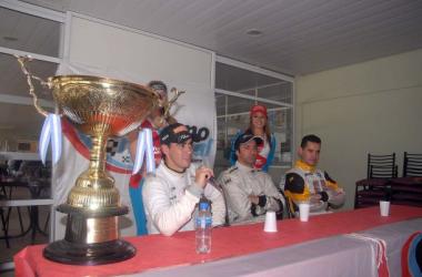 Carlos Okulovich cuando se consagró campeón de Clase 3 en 2010 | Foto: APAT.