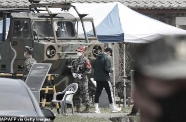 Son-Heung min inicia el servicio militar en Corea del Sur