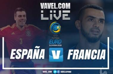 Resumen del España 4-4 Francia en UEFA Futsal Euro 2018