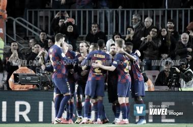 La Liga- Il Barcellona risponde presente al Camp Nou