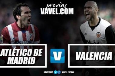 Atletico Madrid - Valencia, scontro frontale