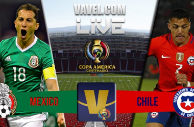 Score Mexico vs Chile in Copa America Centenario Quarterfinal Match (0-7)