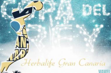 Herbalife Gran Canaria buscará su primera Copa del Rey ante su público | Fotomontaje: Álvaro García (VAVEL)