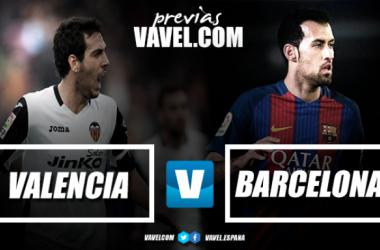 Previa Valencia CF vs FC Barcelona   Fotomonaje: Omar Elkan - VAVEL
