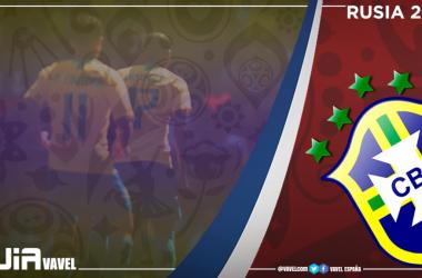 Selección brasileña absoluta. / Montaje: VAVEL