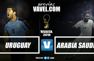 Montaje previa Uruguay vs Arabia Saudí. Foto: Vavel.com