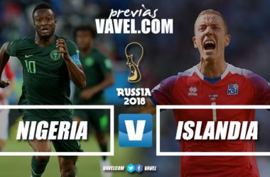 Previa Nigeria - Islandia: el sueño puede estar más cerca