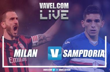 Resumen Milan 1-0 Sampdoria en Serie A 2018