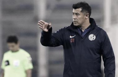 Jorge Almirón no es más técnico de San Lorenzo. FOTO: La Nación
